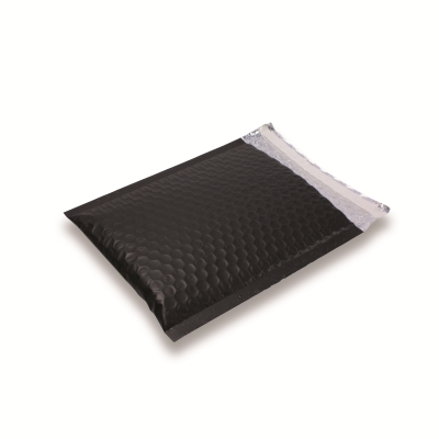 SnazzyBubbel A5 / C5 mat zwart ondoorzichtig