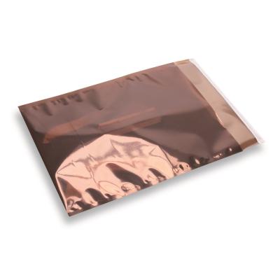 Snazzybag A4 / C4 bruin half transparant