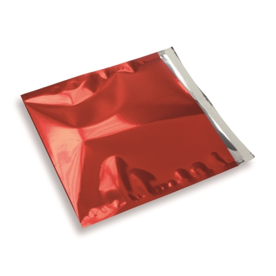 Snazzybag 220 x 220 rood ondoorzichtig