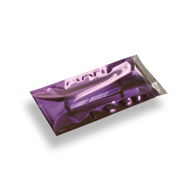 Snazzybag Din Long mauve semi-transparent