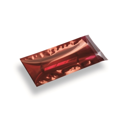 Snazzybag Din Long rouge semi-transparent