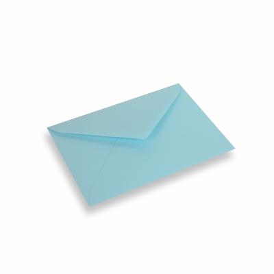 Papieren envelop 156x220 Laguneblauw