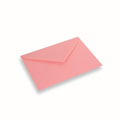 Papieren envelop 156x220 Donkerroze