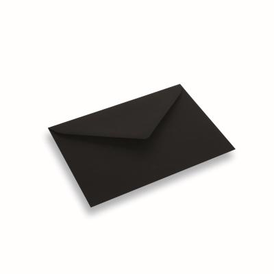 Papieren envelop 156x220 Zwart