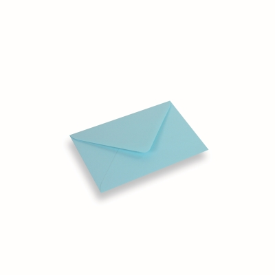 Papieren envelop 110x156 Laguneblauw