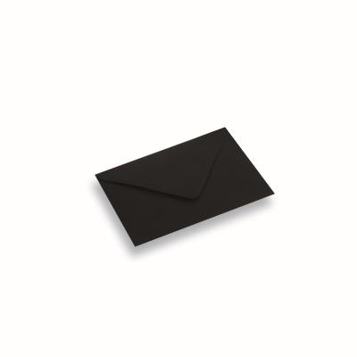 Papieren envelop 110x156 Zwart