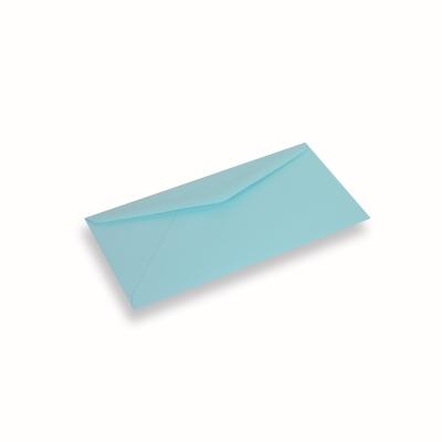 Papieren envelop 110x220 Laguneblauw