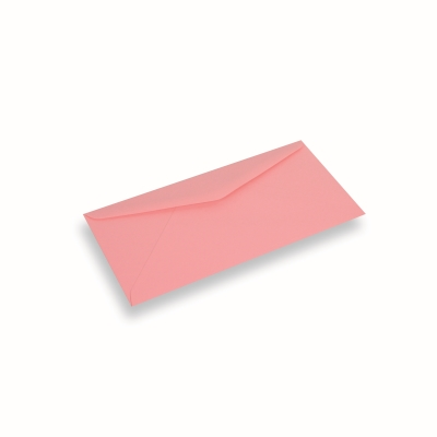 Papieren envelop 110x220 Donkerroze