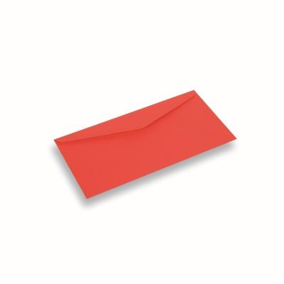 Papieren envelop 110x220 Koraalrood