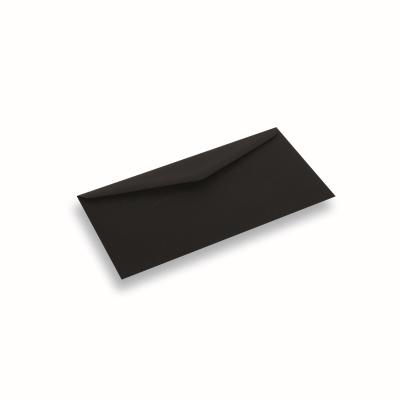 Papieren envelop 110x220 Zwart