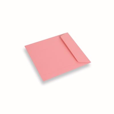 Papieren envelop 170x170 Donkerroze