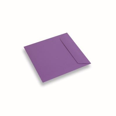 Papieren envelop 170x170 Paars