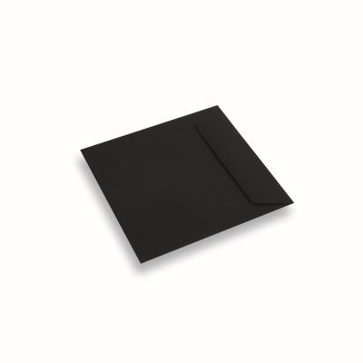 Papieren envelop 170x170 Zwart