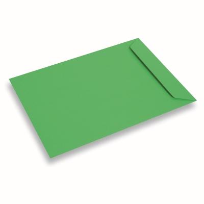 Papieren envelop 220x312 Weidegroen