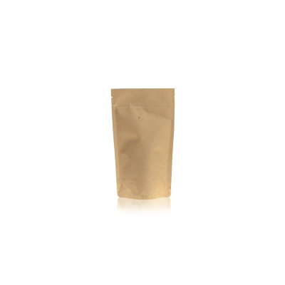 Koffie Pouch Kraftpaper VMPET 125 gram koffiebonen