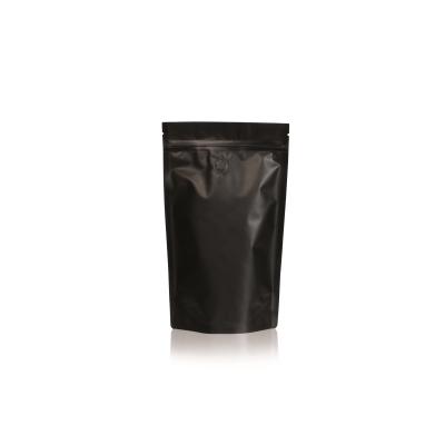 Koffie Pouch mat zwart 300 gram bonen