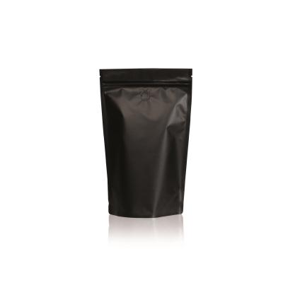Koffie Pouch mat zwart 500 gram bonen