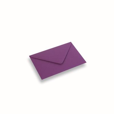 Papieren envelop 110x156 Paars