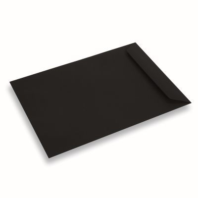 Papieren envelop 220x312 Zwart