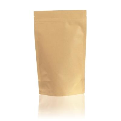 1L - Doypack Zip Papier Kraft/PE