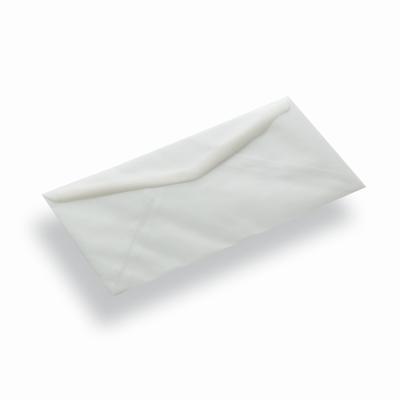Transparante papieren envelop 140 x 140