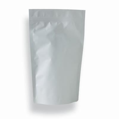 1l - Doypack Zip blanc mat