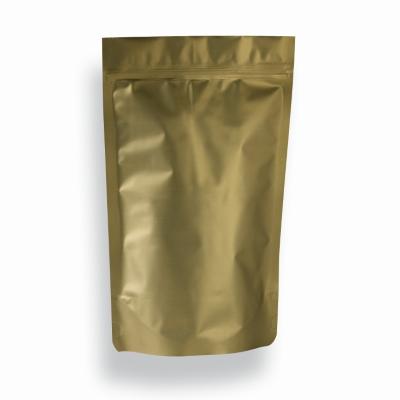 1,7l - Doypack zip doré mat
