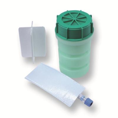 Groene DG container compleet 500ml