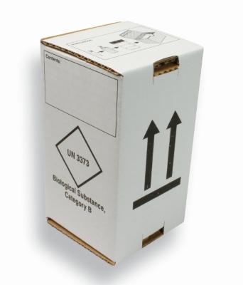Doos UN3373 voor groene DG container 500ml