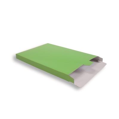 Groene Kartonnen Verzendverpakkingen 240 + 29 x 350 mm