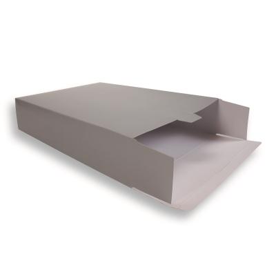 Zilveren Kartonnen Verzendverpakkingen 305 + 90 x 420 mm