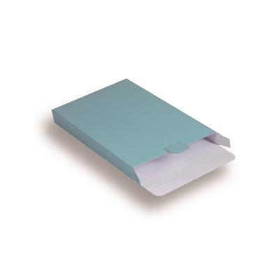 Blauwe Kartonnen Verzendverpakkingen 160 + 29 x 250 mm