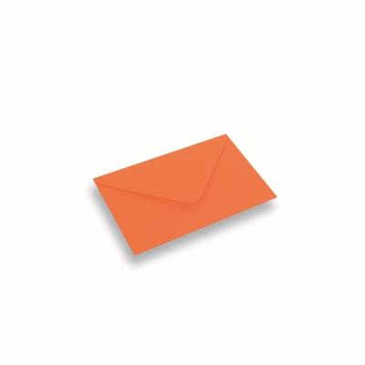 Papieren envelop 110x156 Donkeroranje