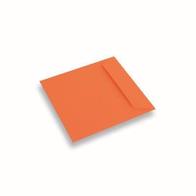 Papieren envelop 170x170 Donkeroranje