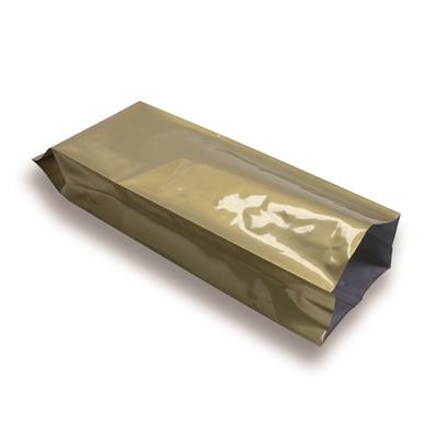 Zijvouwzak goud 250 g
