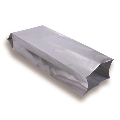 Zijvouwzak zilver 1000 g