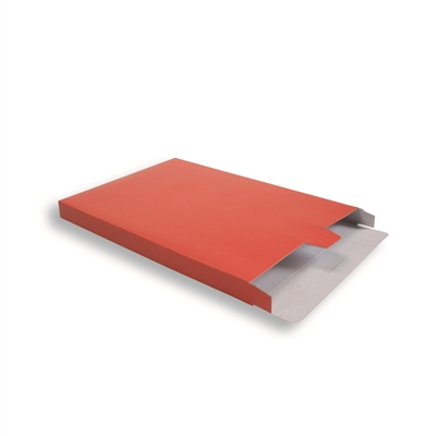 Koraal Rood Kartonnen Verzendverpakkingen 240 + 29 x 350 mm