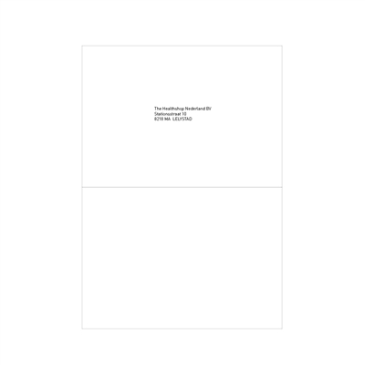 Etiquettes blanches 148,5x210