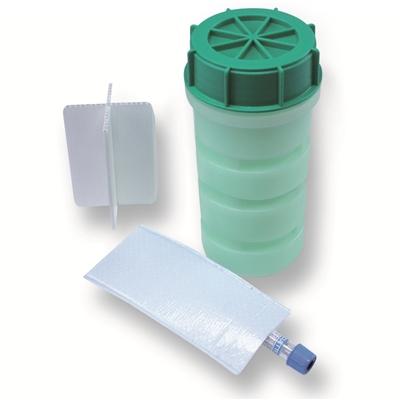 Groene DG container compleet 800ml