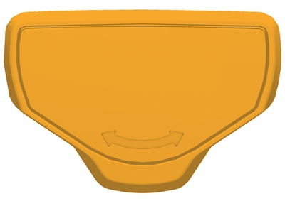 T-loc sluiting geel voor Systainer® 1-5