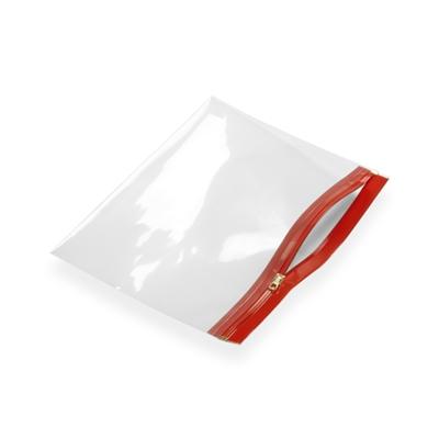 Pochette zip 360 x 250 rouge