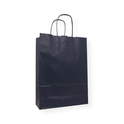 Kraft Paper Carrier Bag 180 x 80 x 250 blauw
