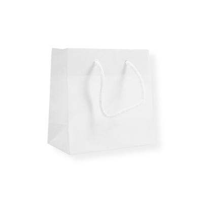 Glossy Bag 140x70x140+40 wit
