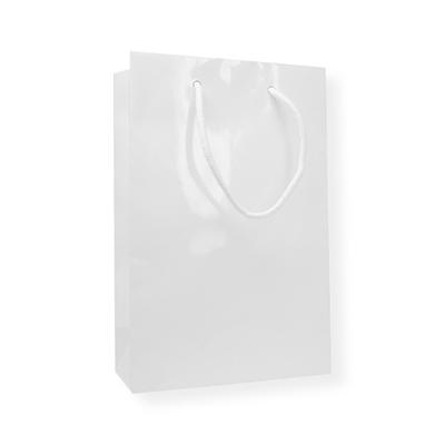 Glossy Bag 160 x 80 x 250 wit