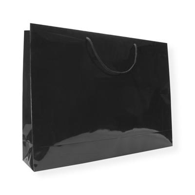 Glossy Bag 600 x 140 x 455 zwart