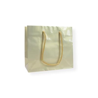 Glossy Bag Parel Goud 32x10x27cm+5cm