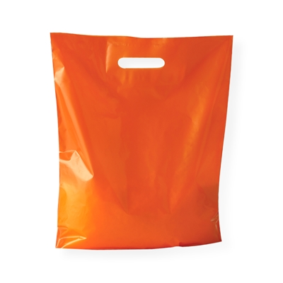 Sac Plastqiue orange 380 x 440