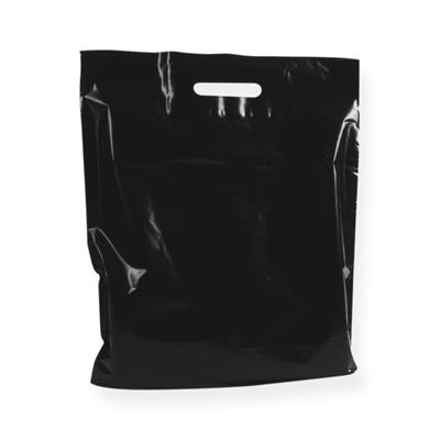 Sac Plastique Noir 370 x 440