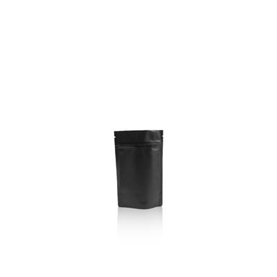 150ml - Doypack zip noir mat - NOUVEAU