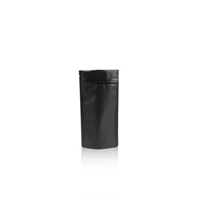 250ml - Doypack zip noir mat - NOUVEAU